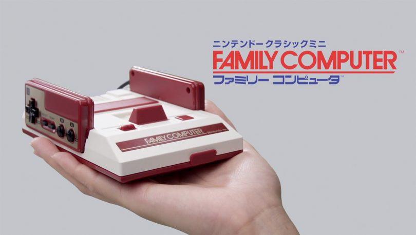 Famicom Classic Mini in Hand