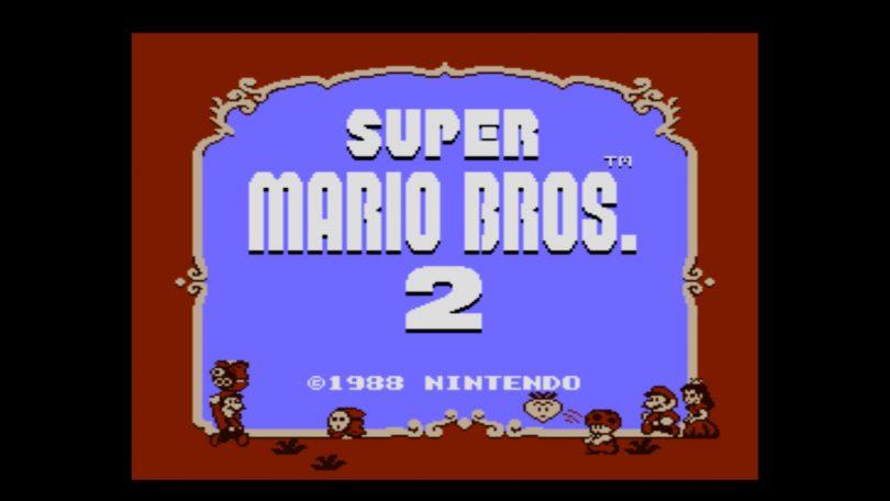 Super Mario Bros. 2 – Titelbildschirm