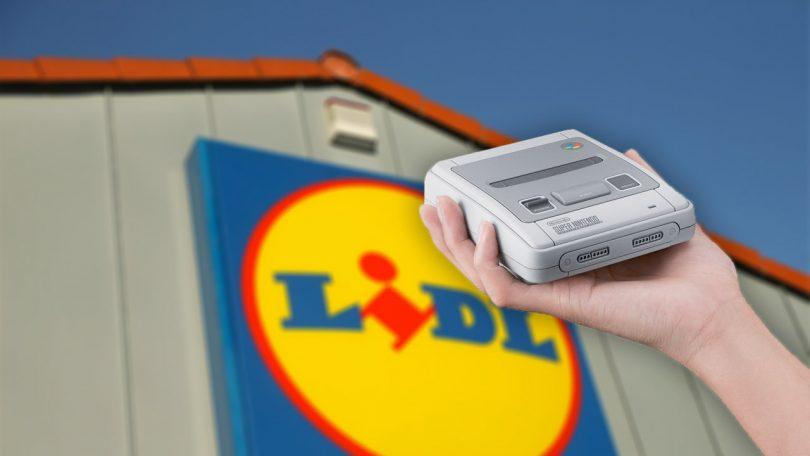 SNES Classic Mini bei Lidl