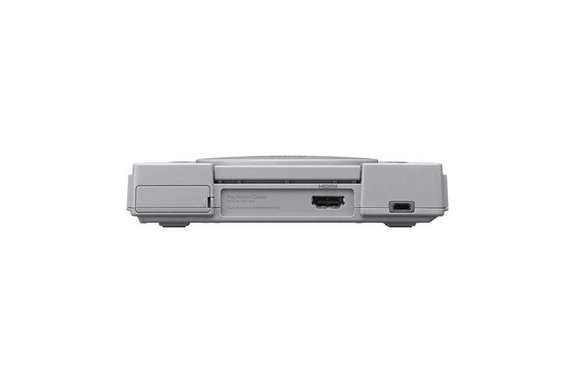 Sony PlayStation Classic – Rückseite
