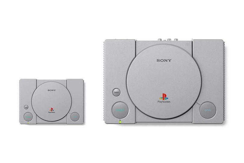 Sony PlayStation Classic – Größenvergleich